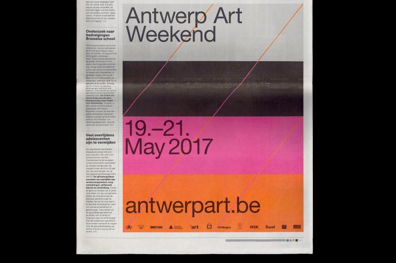 Antwerp Art Weekend 2017