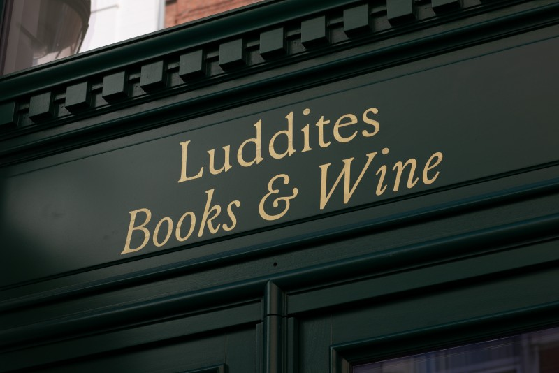 Luddites, a place for the finest books & wine.
